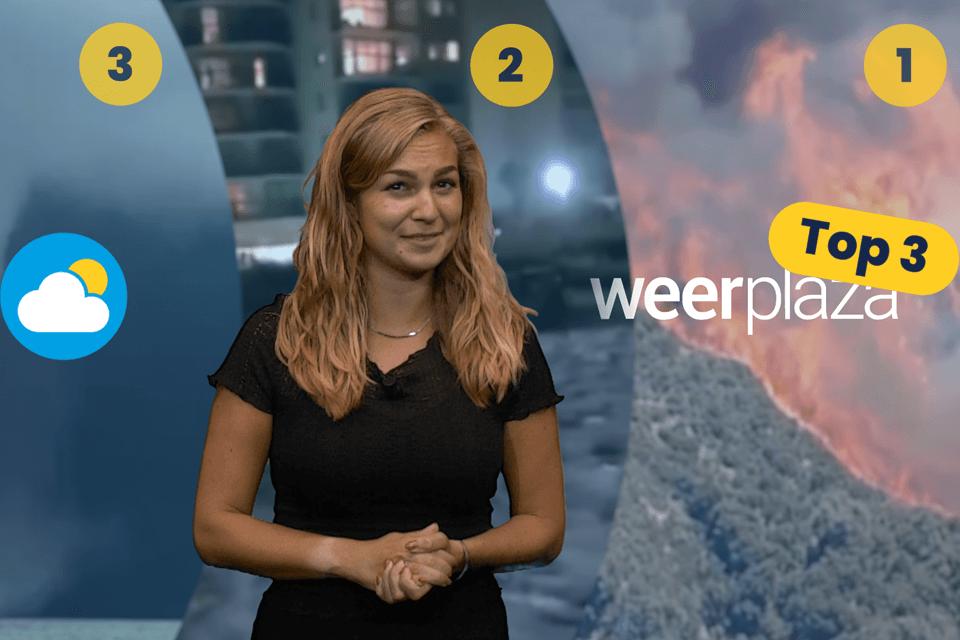 Top 3 spraakmakende weersverschijnselen van deze week: van heftige ...